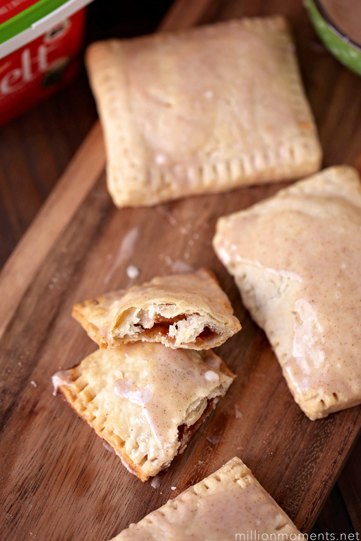 Apple Cinnamon Pocket Pastries - Melt Organic Buttery Spread